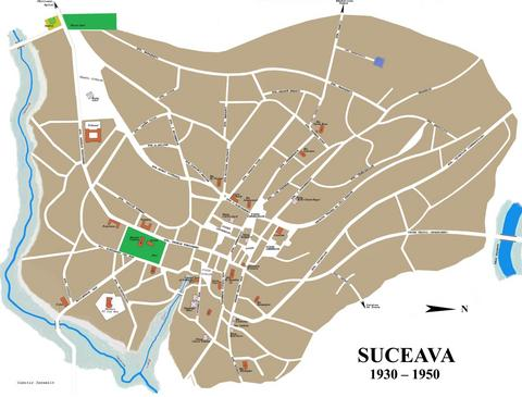 Shotzer The Book of Suceava Jews Maps